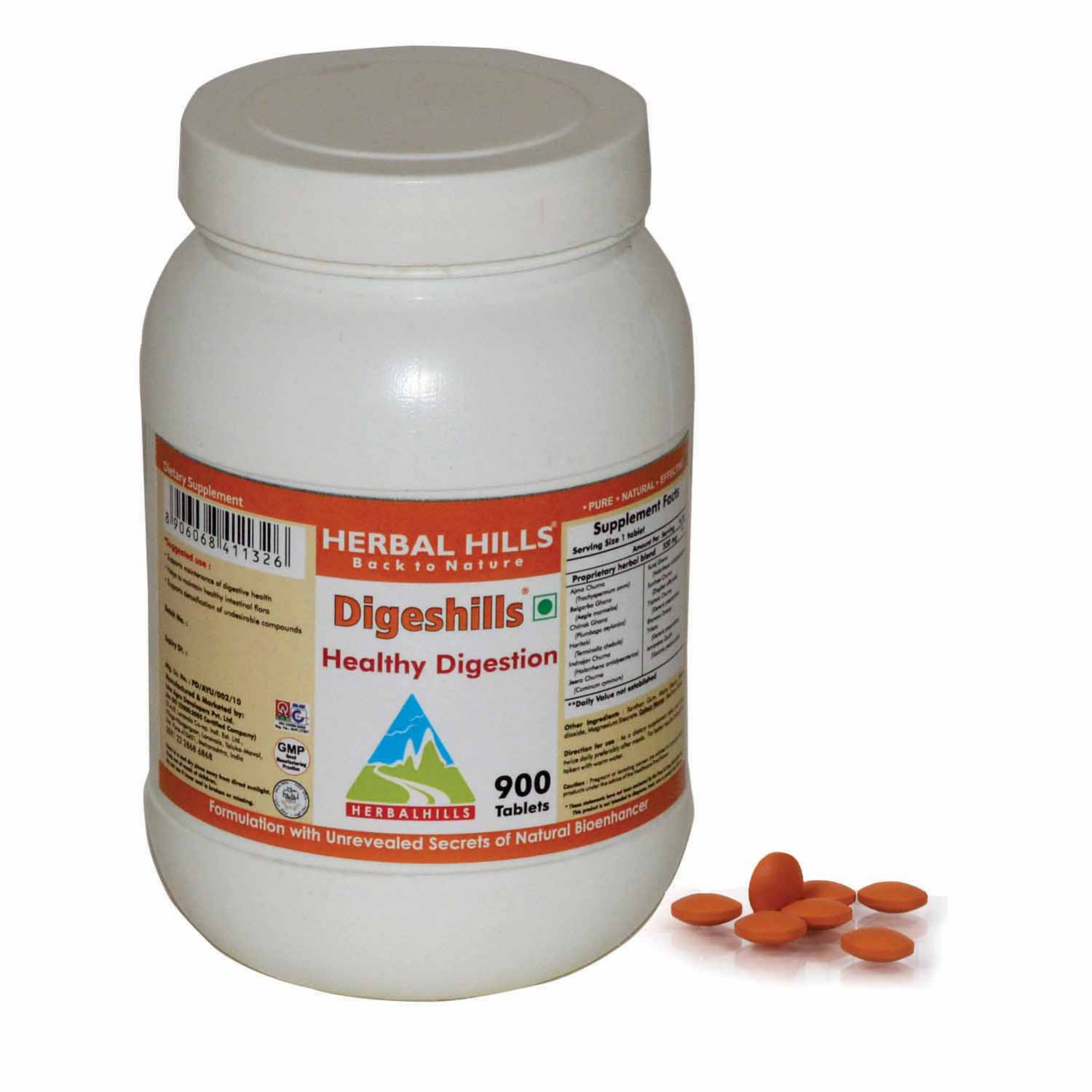 Digeshills 900 Tablets - Healthy Digestion