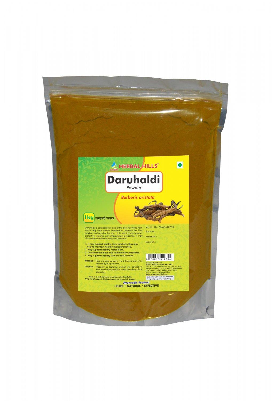 Daruhaldi Berberis aristata Powder - 1 kg