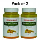 Turmeric Curcuma longa Powder - Pack of 2 - 100 gms each