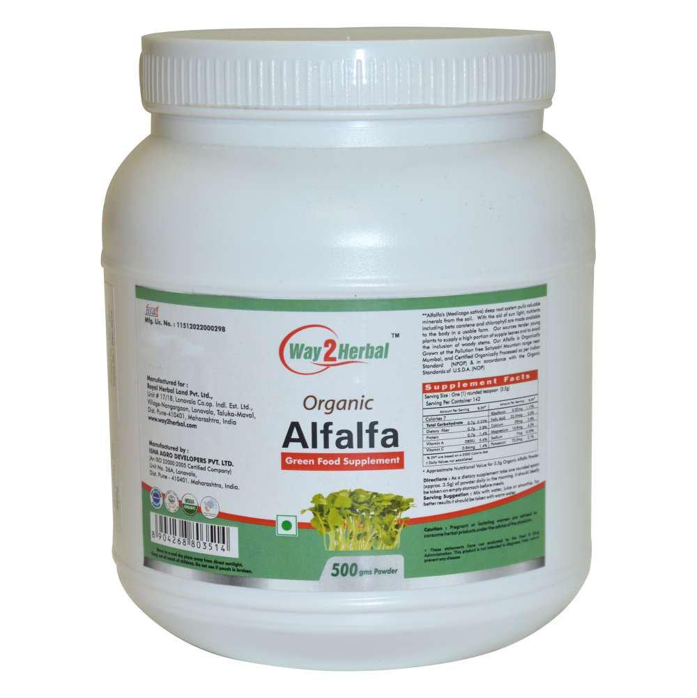 Alfalfa 500 gm Powder
