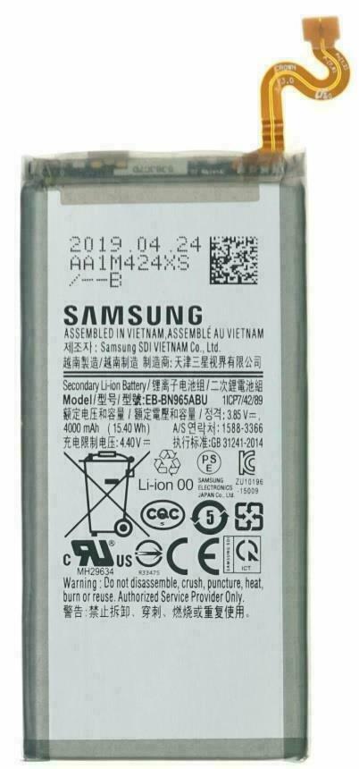 New OEM Original Genuine Samsung Galaxy Note 9 N960 EB-BN965ABU 4000mAh Battery