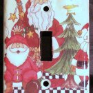 2 Santas Light Switch Plate Cover