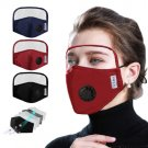 Reusable and washable Face Adult Mask with Respirator and Shield