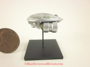 Mad Science Miniature Dollhouse Spaceship Model D156 1:12 Scale Model Starship Science Fiction UFO