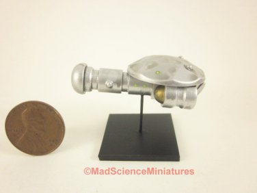 Dollhouse Miniature Mad Science Spaceship Model D161 1:12 Scale Model Starship Science Fiction UFO