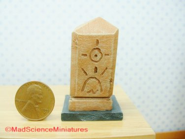 Cthulhu Artifact Idol Dollhouse Miniature D125 1:12 Scale H P Lovecraft Elder Gods Spooky