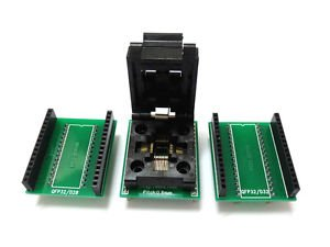 Programmer Adapter QFP32 TQFP32 TO DIP32 for Xeltek  Wellon TOP Labtool, EasyPRO