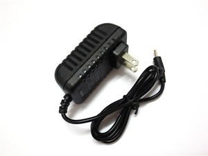 AC/DC Home Wall Power Charger Adapter For Visual Land Prestige Pro 7D tablet