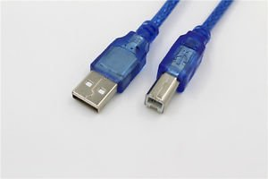 USB 2.0 High Speed Cable For HP Canon Printer PC Computer Laptop Lead A to B