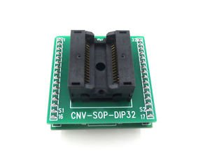 SOP32 TO DIP32 SOIC32 IC Test Socket Programming Adapter Width 7.55mm to 7.60mm