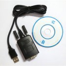 RS232 RS-232 Serial to USB 2.0 PL2303 Cable Adapter Converter for Win 7 8 MAC OS