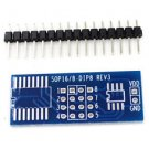 New 5pcs SOP8 Sop16 SO8 SOIC 8 SOIC 16 TO DIP8 DIP16 adapter pcb conveter board