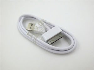 USB Data Cable Charger for Samsung Galaxy Tab 2 10.1 P5100 P7500 Tablet White
