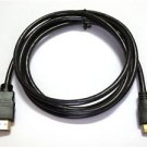 6Ft Mini HDMI to HDMI Cable for NIKON D300S S9300 D3100 D3200 D3300 Camera to TV