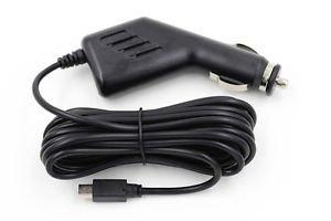 3.3 Metres Long USB Mini B 12V-24V to 5V 1.5A 1500mA Car Charger
