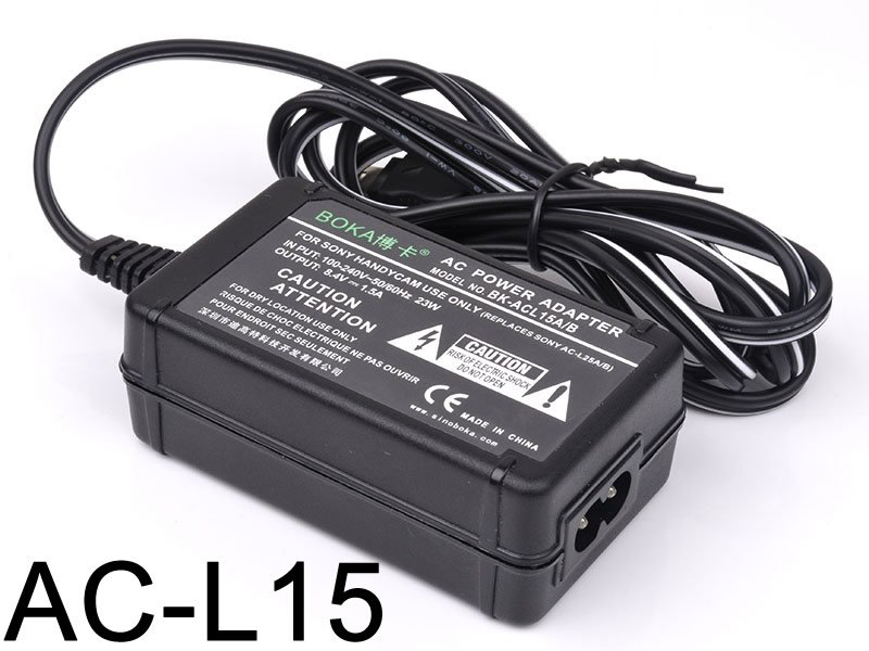 AC/DC Battery Power Charger Adapter For Sony Camcorder AC-L10 A AC-L10B AC-L10C