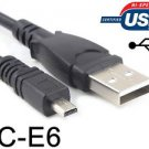 USB 2.0 Ultra Thin Data Sync Transfer Power Cable Lead Cord Wire for AGFA Camera