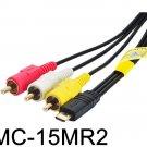 AV A/V Audio Video Cable Cord Lead f Sony Handycam Camera HDR-PJ340 b HDR-PJ340E