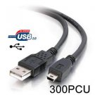USB Charging Data Cable Cord for Wacom PTH-851 Intuos Pro Pen Touch Large Tablet