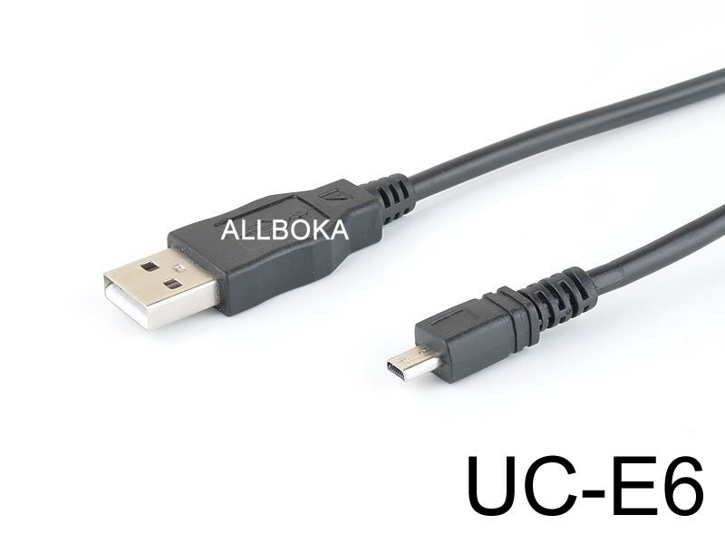 USB PC Data Sync Cable Cord Lead Wire f/ Sony Camera Alpha DSLR-A100 K DSLR A100