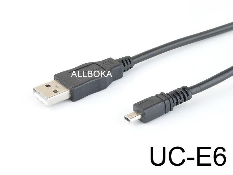 USB Data Sync Cable Cord Lead f/ NIKON Coolpix Camera UC-E6 UC-E16 UC-E17 UC-E23