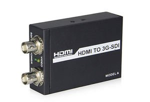 PRO HDMI to dual l 3G/HD SDI converters 8-channel HDMI audio splitter SRC ESD