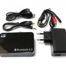 NEW Bluetooth 4.0 Music Receiver Apt-X RCA For Media Theater EU 5V/2A