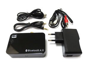 NEW Bluetooth 4.0 Music Receiver Apt-X RCA For Media Theater EU 5V/2A
