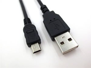 USB DATA/SYNC CABLE CORD For Canon PowerShot ELPH180 IXUS 175 IXUS175 Camera