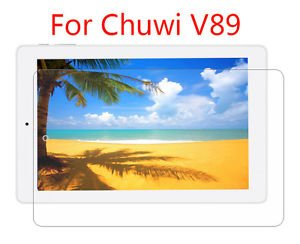 """4PCS Clear LCD Screen Protector Film Guard For Chuwi V89 Tablet PC 8.9"""""""
