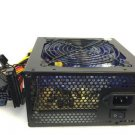 700w 120mm Blue 4x LED Fan Silent Sata Pci-e 24 Pin Power Supply For Intel AMD    EJ