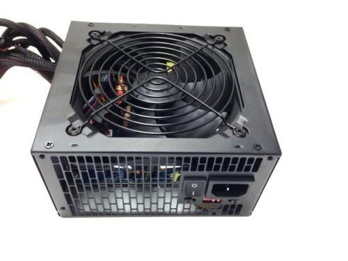 Quiet 750 Watt for Intel AMD PC ATX Power Supply SATA PCI-E 20/24 PIN 12cm Fan     EJ