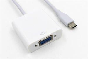 USB Type-C To VGA HD TV AV Video Adapter Converter For Gigaset ME pure phone
