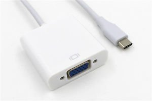 USB Type-C To VGA HD TV AV Video Adapter Converter For Philips S653H phone