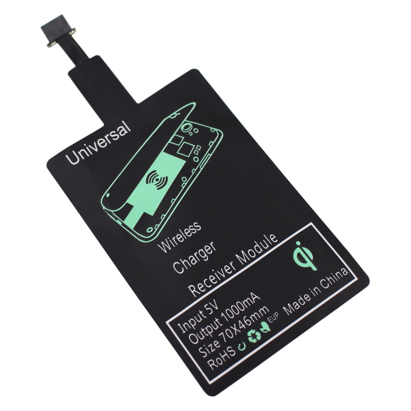 Qi Wireless Charging Receiver Charger Pad Module For Huawei P8 Lite (2017)