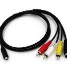 AV A/V TV Video Cable Cord Lead For Sony Camcorder Handycam DCR-DVD109E DVD110E
