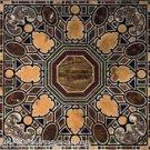 6'x3' Black Marble Table Top Scagaliola Very Fine Real Pietradure Home Décor Art