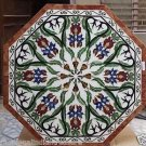 "30"" Marble Table Top Handmade Mosaic Art Side Corner Table Top Design Home Decor"