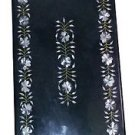 Size 4'x2' Marble Dining Table Top Abalone Stone Inlay Marquetry Home Deco H956A