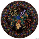 5' Marble Dining Table Top Multi Inlaid Marquetry Mosaic Art Handmade Decor Gift