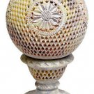 """9"""" Marble Candle Holder Lamp Color Hand carved Aroma Lamp Home Decorative Gifts"""