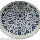 Size 2'X2' Marble Center Coffee Table Top Rare Inlay Gem Mosaic Patio Decor H916