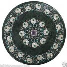 """Size 20""""x20"""" Marble Coffee Table Top Mother of Pearl Inlay Pietradure Home Decor"""