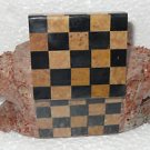 Marble Jewelry Trinket Box Chess Design Elephant Carved Home Decorative Gifts