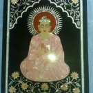 2'x3' Antique Marble Buddha Art Inlay Faux Table Top Workshop Home & Garden Arts