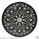 "24"" Marble Dining Coffee Table Top Handmade Mother Of Pearl Marquetry Home Decor"