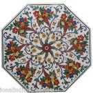 Marble Coffee Table Stone Inlay Dining Table Hand made Pietra Dura Scagliola Art