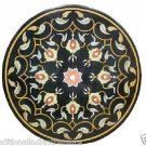 """36"""" Marble Dining Coffee Table Top Handmade Furniture Scagliola Home Decor Gifts"""