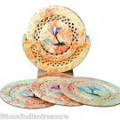 Indian Marble Coaster Set Home And Garden Office Handicraft Decorative Gifts New