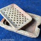 Marble Soap Stone Dish Tray Holder Bathroom accessories Handmade decor